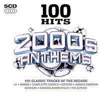 100 HITS 2000s ANTHEMS NEW SEALED 5 CD SET 100 GREATEST CLASSIC TRACKS