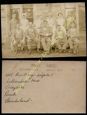Circa 1916 WWI AUXILLIARY HOSPITAL Lattendales House, Greystoke, Penrith, Cumb