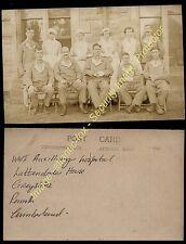 Circa 1916 WWI AUXILLIARY HOSPITAL Lattendales House, Greystoke, Penrith, Cumb