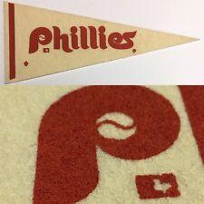 Vintage 1969 Philadelphia Phillies 4x9.5 Mlb Baseball Mini Pennant Flag Banner