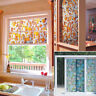 Self Adhesive Glass Film Window Sticker Bathroom Glass Sticker PVC Frosted HL