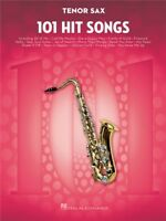 101 Hit Songs For Tenor Saxophone Play Rock Pop Chart Tunes SAX MUSIC BOOK