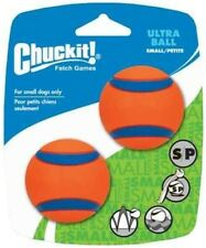 Chuckit! Ultra Ball Durable High Bounce Rubber Dog Ball - Small (Pack of 2)