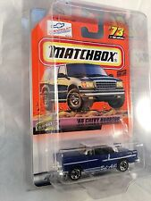 MATCHBOX 1999 #73 '55 Chevy Hardtop - Mint to NM Card in Protective Case