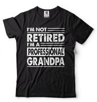 Retired Grandpa shirt Grandfather retirement tee shirt Funny shirt for grandpa T