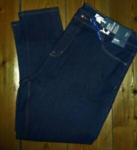 M&S CARRIE SKINNY HIGH RISE STRETCH JEANS INDIGO UK22 SHORT NEW NWT