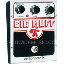 EHX Electro Harmonix Big Muff Distortion Sustain Guitar Effects Pedal