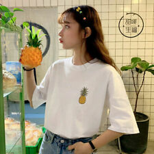 Embroidered Short Sleeve T-Shirts for Women