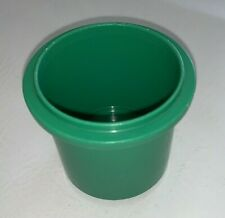 Vintage Discovery Toys Measure Up Stacking Cup Replacement Green #5 Cat