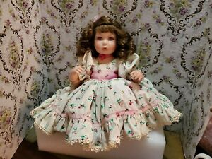 """Marie Osmond Amaya Springtime Picture Day Doll 15"""" Porcelain Limited Edition"""