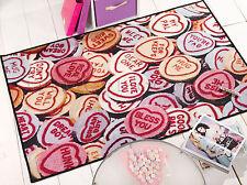 Flair Rugs Matrix Themes Love Hearts Rug Multi 100 X 160 Cm