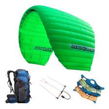 Profession 10sqm Quad Line Traction Kite Surfing Power Kite Parachute Paraglider