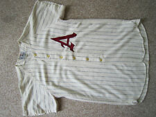 "Rare Vintage Champion Pinstripe Jersey 60's? ""A"" Logo"