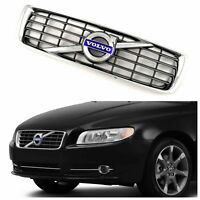 Volvo S80 Grill Grille 2007 2008 2009 2010 2011 2012 2013 Chrome Grey 30756991