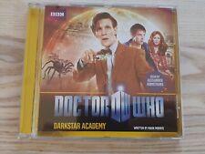 Doctor Who Darkstar Academy CD Audiobook