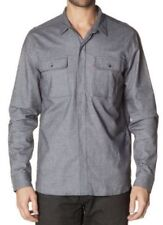 Levi's Patternless Long Sleeve Casual Shirts & Tops for Men
