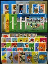 1988 Romania,Rumänien,Roumanie,Rumania,Complete Year set= 37 stamps +11 s/s ,VFU