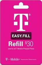 T-Mobile Prepaid Refill Card $30 (Digital)