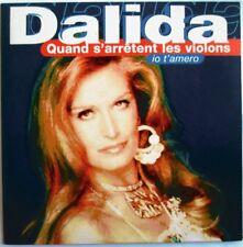 """DALIDA - CD SINGLE """"QUAND S'ARRÊTENT LES VIOLONS"""""""