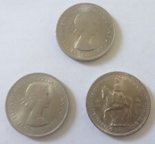 GB 5 SHILLING COINS 1953 X 1 & 1960 X 2 UNCIRCULATED
