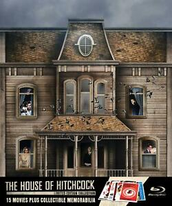 The House of Hitchcock Limited Edition 15 Movies Collectible Gift Box Set NEW