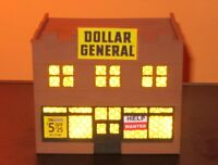HO Scale building: Dollar General