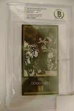Doug Ford signed Masters Collection card  -  1957 winner