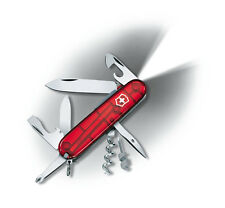 VRAI COUTEAU SUISSE VICTORINOX SPARTAN LITE LED ROUGE 15 OUTILS NEUF 1.7804.T