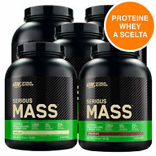ON Optimum Nutrition Serious Mass Gainer Proteine Whey Gusto a Scelta - 2.73kg