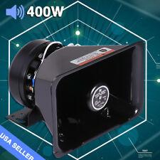 Universal 400W Compact Loud Speaker PA System Siren Horn Car Warning Alarm 12V