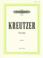 KREUTZER STUDIES or CAPRICES (42) Hermann Violin*