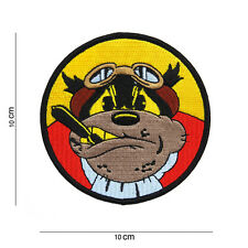 US Army Patch Flying Bulldog USMC VMS VMF-214 Scout Bombing Squadron WK2 WWII