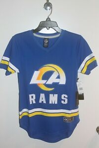 Los Angeles Rams Women's Team Apparel 5th Collection Jersey Retail $50 NWT
