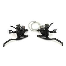 Sunrace STMX30 Bicycle Trigger Shifter & Brake Lever Set // 3x11-Speed // Black