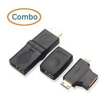 Cable Matters Combo, Hdmi Female Coupler, Hdmi Swivel Adapter & Mini/Micro Hdmi