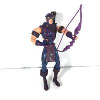 "Marvel Legends Hawkeye Action Figure Toy 2004 Toybiz Series 7 6"" Avengers C1"