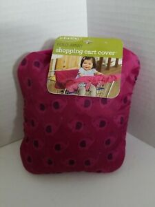 Infantino fold away Shopping Cart Cover - Pink elephants