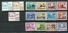 Gran Bretaña JERSEY Año 1975 y 1978 tasa / postage due 2 sets MNH