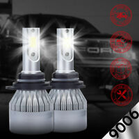 XENTEC LED HID Headlight kit 9006 White for 1990-2000 Chevrolet C3500