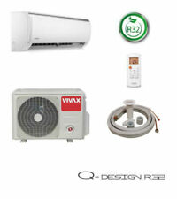 VIVAX Q Design + 3 m Leitung 2,6 KW 9000BTU Klimagerät R32 Split Klimaanlage A++