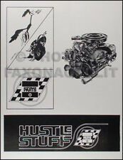 1964-1970 Dodge and Plymouth Racing Parts Catalog MoPar Hustle Stuff Performance