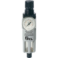 "PCL Professional Air Tools 1/2"" Filter Regulator - Air Line High Quality - ATC12"