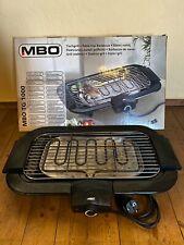 ✅ MBO Tischgrill TG 1000 elektrisch 2000 Watt - TOP ANGEBOT   Haushaltsauflösung