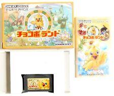 CHOCOBO LAND A Game Of Dice Nintendo Game Boy Advance GBA Jap Japan (2)