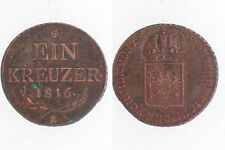 Franz I  1 Kreuzer von 1816