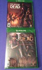 The Walking Dead Combo Pack *Season 1 + Season 2* (XBOX ONE) NEW