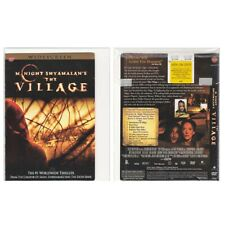 Good Halloween Movie THE VILLAGE on DVD, M. Night Shyamalan Amish Monsters Twist