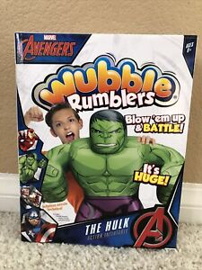 WUBBLE Marvel HULK Avengers Ball Rumblers Inflatable Blow Up & Inflation Nozzle