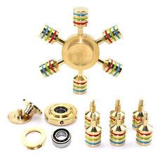 Hand Spinner Tri Fidget Triangle Torqbar Brass Finger Toy EDC Focus ADHD Autism