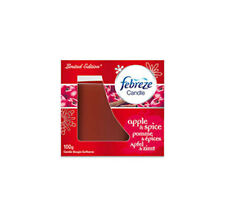 Febreze Scented Candle Apple and Spice Pomegranate 100g
